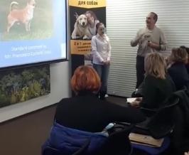 Chihuahua seminar in Ukraine