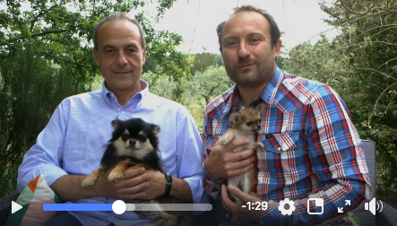 Our Dogs in Italian TV!
